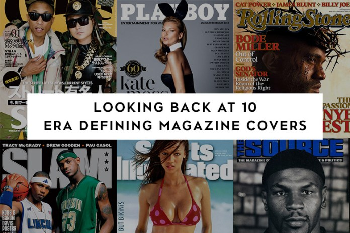 Looking Back at 10 Era Defining Magazine Covers