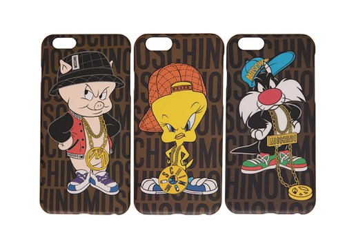 Looney Tunes x Moschino iPhone Cases