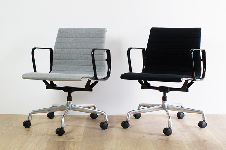 Loopwheeler x BUILDING 5th Anniversary Eames Aluminum Group Chair