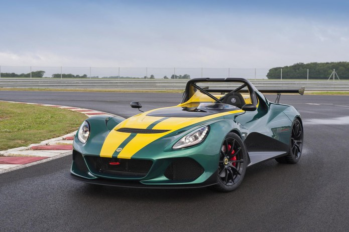 Lotus Launches New 3-Eleven Coupe