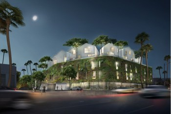 MAD Architects Presents a Hillside Village for Los Angeles' 8600 Wilshire