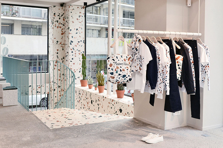 Maison Kitsuné Opens Boutique and Café at Filles du Calvaire in Paris