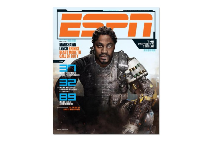 Marshawn Lynch to Play a Villain in 'Call of Duty: Black Ops III'