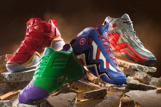 A First Look at Marvel's Avengers x adidas Retro Basketball Pack
