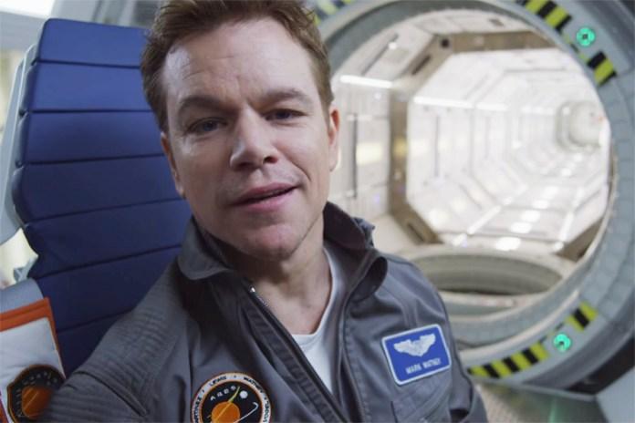 Matt Damon Stars in Teaser Trailer for Ridley Scott's 'The Martian'