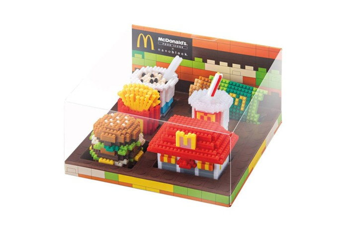 McDonald's x nanoblock Limited Edition Toy Range Sells Out in Hours
