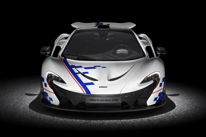 "McLaren P1 ""Alain Prost Edition"""