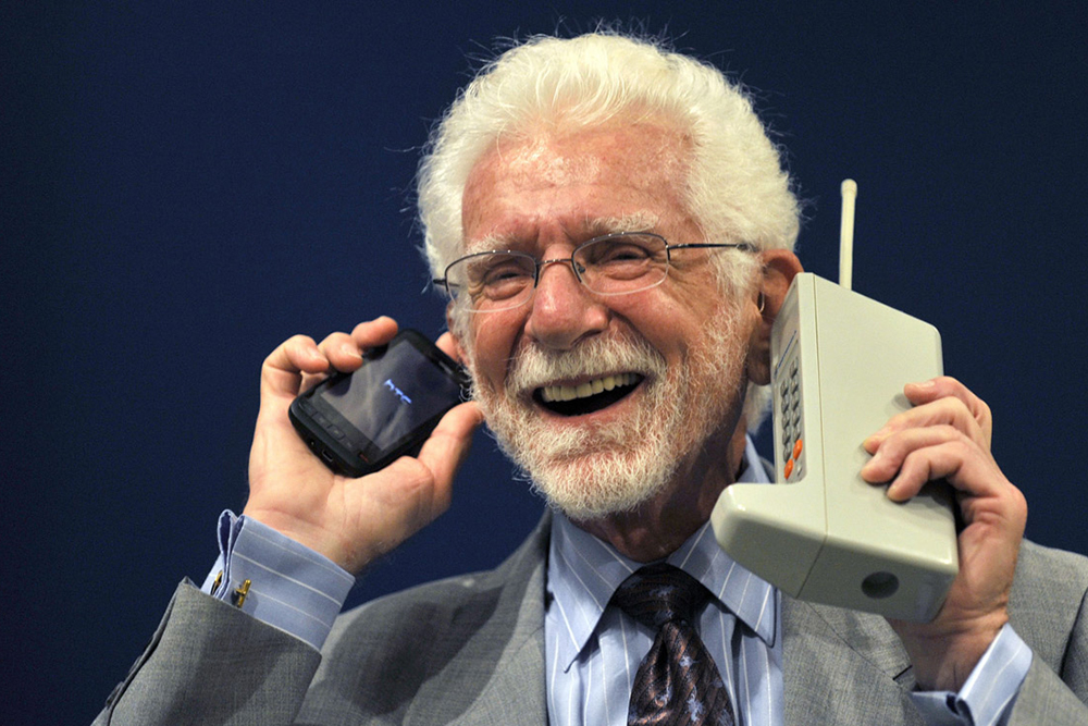 Meet the Man Who Invented the Cellphone