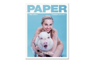 Miley Cyrus Poses Nude With Her Pet Pig For The 'PAPER' 2015 Summer Issue