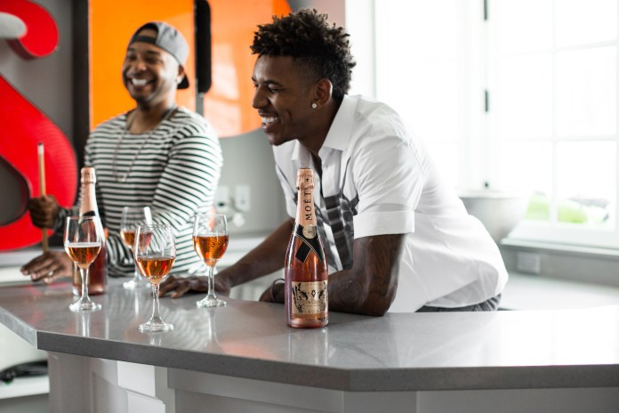 "Moët & Chandon & Marcelo Burlon Present ""Follow the Bottle"" featuring Nick ""Swaggy P"" Young"