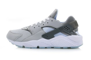 "The Nike Air Huarache ""Wolf Grey"" Is Made for Hoverboards"