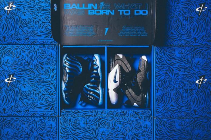 "Nike Air Penny ""Sharpie"" Pack"