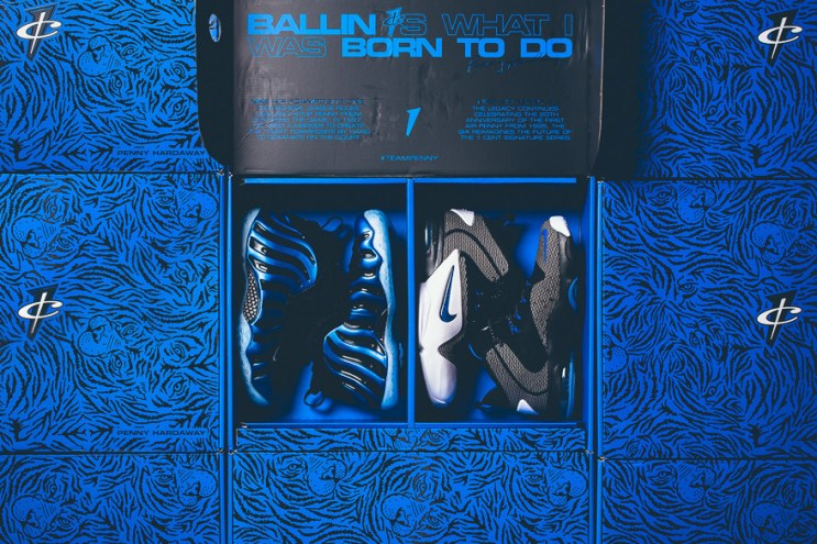 "Nike Air Penny ""Sharpie"" Pack"