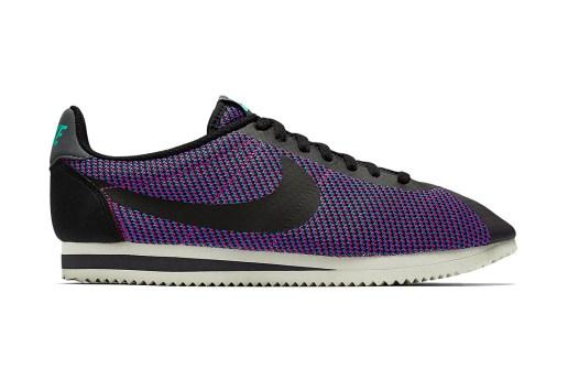 Nike Cortez Knit Jacquard Black/Photo Blue