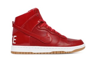 "NikeLab Dunk Lux High SP ""Gym Red"""