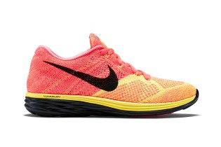 Nike Flyknit Lunar 3 Hot Lava/Laser Orange-Black