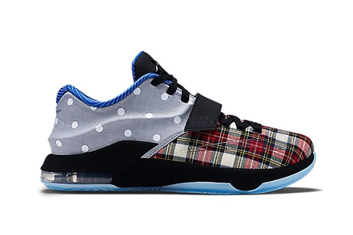 "Nike KD VII EXT CNVS QS ""Tartan & Polka Dots"""