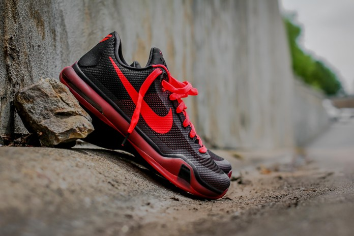 "Nike Kobe X ""Bright Crimson"""
