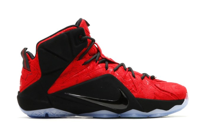 "Nike LeBron XII EXT ""Red Paisley"""
