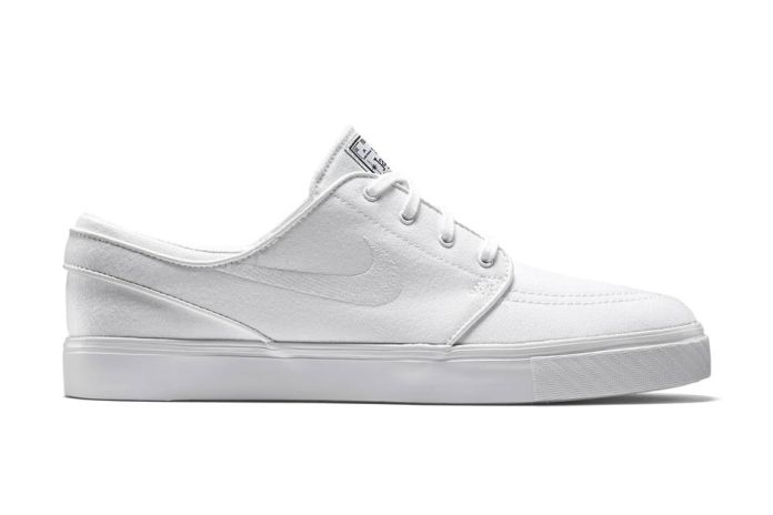 "Nike SB Zoom Stefan Janoski Canvas ""All White"""