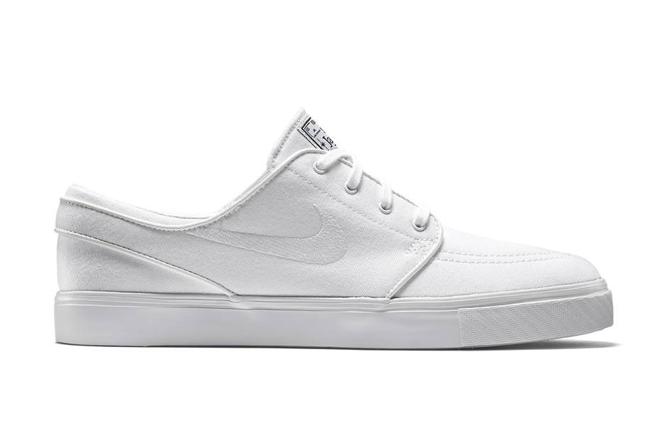 "Nike SB Zoom Stefan Janoski Canvas ""All White"""