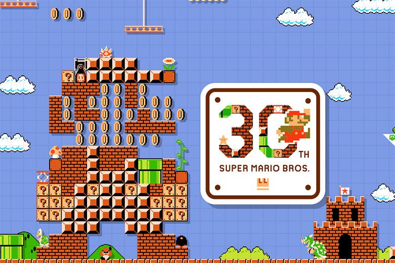 Nintendo Celebrates Super Mario Bros' 30th Anniversary With Special Teaser Site