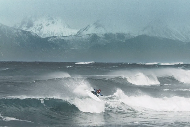 """COLD SEDUCTION"" by Max Larsson Explores Surfing in the Norwegian Winter"