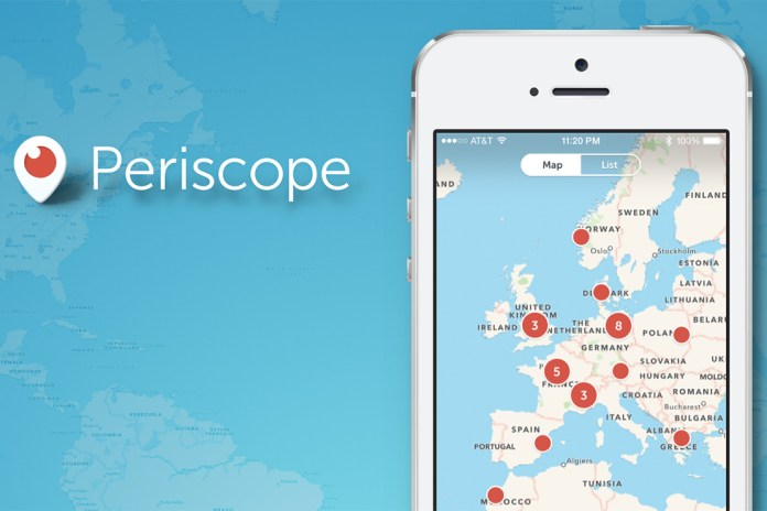 Periscope Adds a Global Map of Active Broadcasts