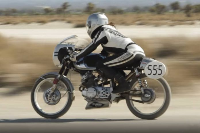 Petrolicious Hops on Two Wheels With the Triple Nickel