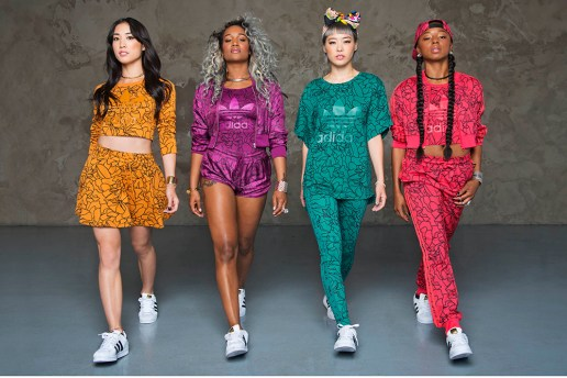 "Pharrell Williams Unveils adidas Originals ""Dear Baes"" Tour Pack"