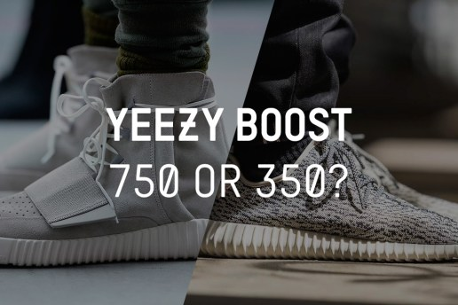 POLLS: adidas Originals Yeezy Boost 750 or 350?