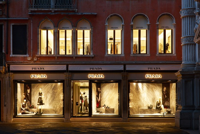 Prada Reopens Its Historic Piazza San Moisè Store in Venice