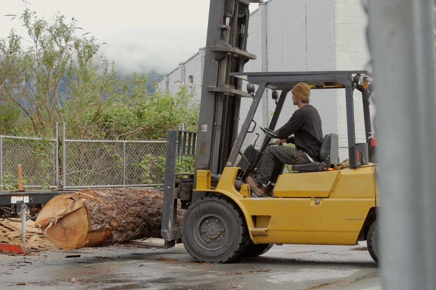 Process: Vancouver Urban Timberworks