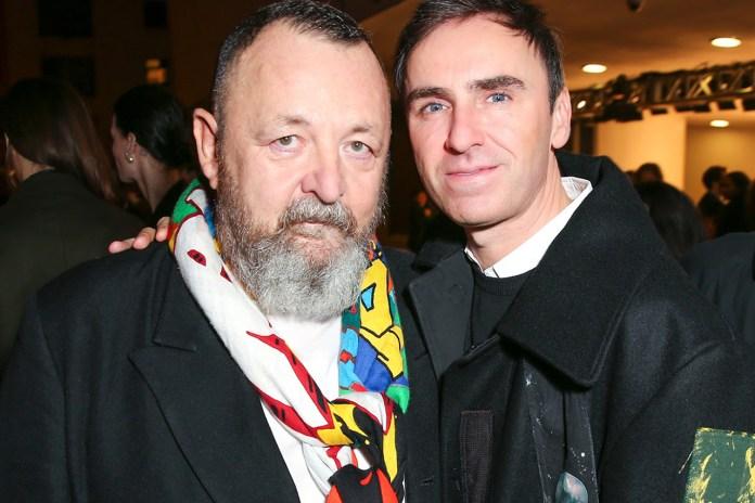 Raf Simons Interviews Fashion's Leading Sound Director Michel Gaubert