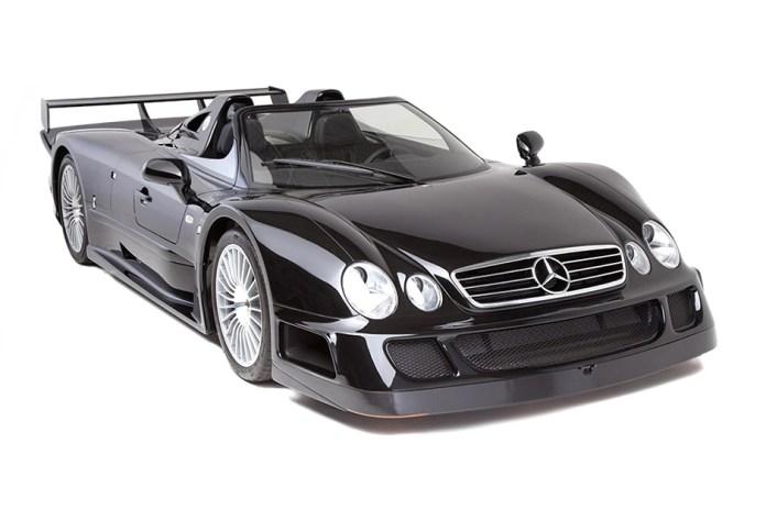 Rare 1999 Mercedes-Benz CLK GTR Roadster Set for Auction