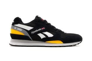 Reebok GL 3000 Black/Retro Yellow/White