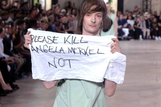 Rick Owens Punches Protesting Model at Paris Fashion Week