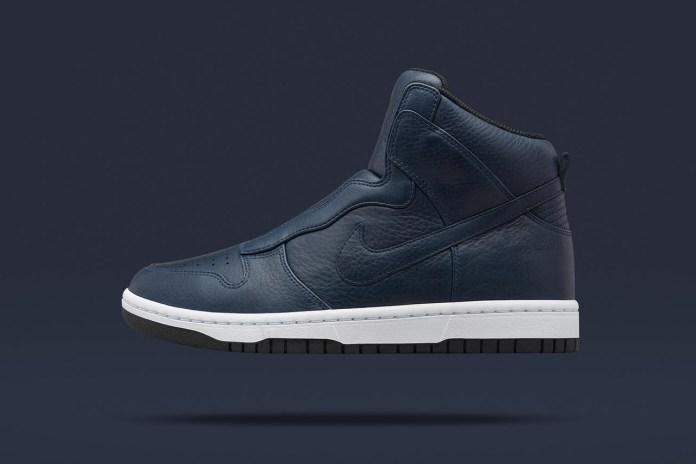 sacai x NikeLab Dunk Lux High