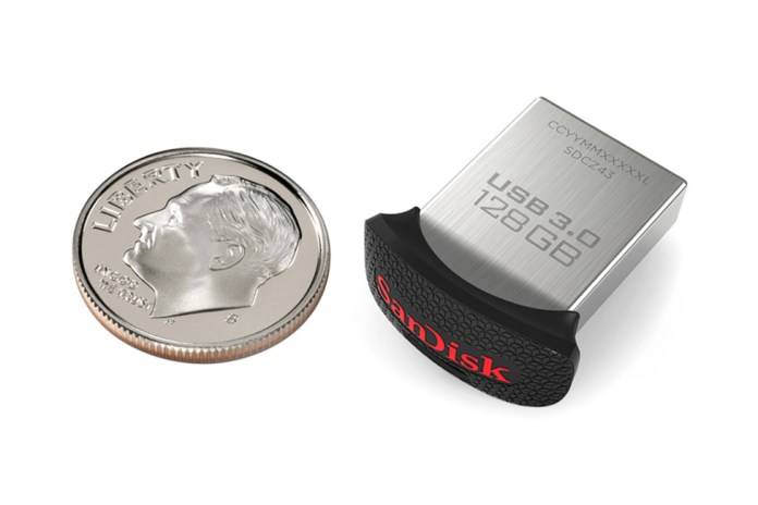SanDisk Unveils the World's Smallest 128GB Flash Drive