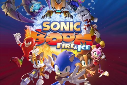SEGA Announces 'Sonic Boom: Fire and Ice' for Nintendo 3DS