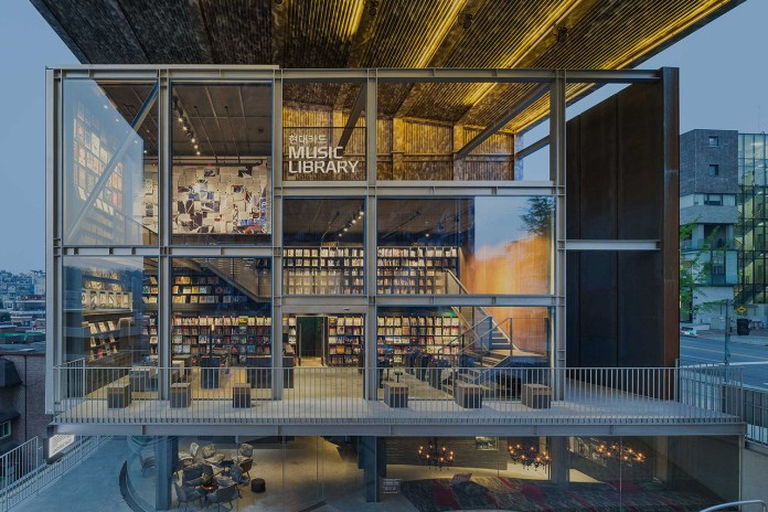 Seoul's 10,000-Strong Vinyl Record Music Library Opens in a State-of-the-Art Building