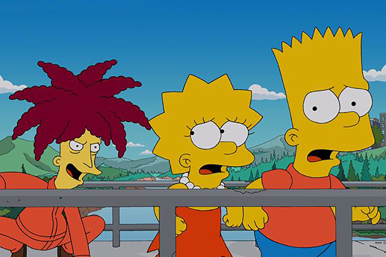 Sideshow Bob Finally Kills Bart Simpson On The Simpsons Treehouse Of Horror Episode