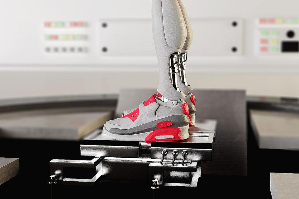 Simeon Georgiev Imagines What Your Favorite Nike Sneakers Will Look Like in the Future