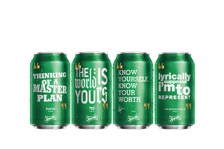 """Sprite Launches """"Obey Your Verse"""" Campaign With Drake, Rakim, The Notorious B.I.G. and Nas"""