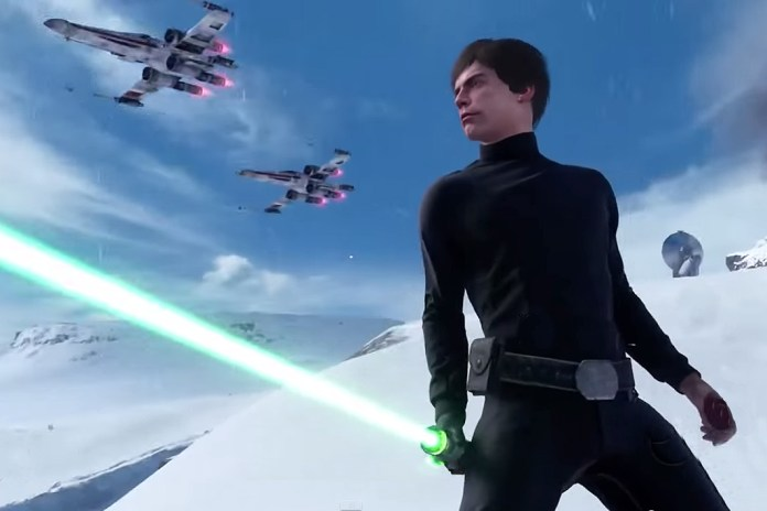 "'Star Wars Battlefront' ""Walker Assault on Hoth"" E3 Multiplayer Gameplay Trailer"