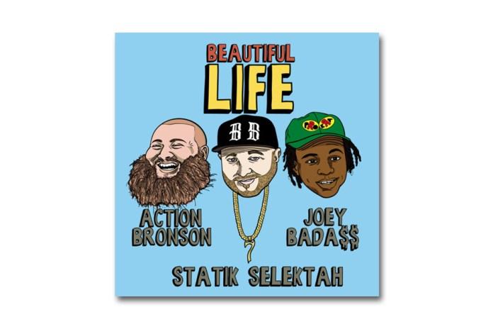 Statik Selektah Featuring Action Bronson & Joey Bada$$ - Beautiful Life