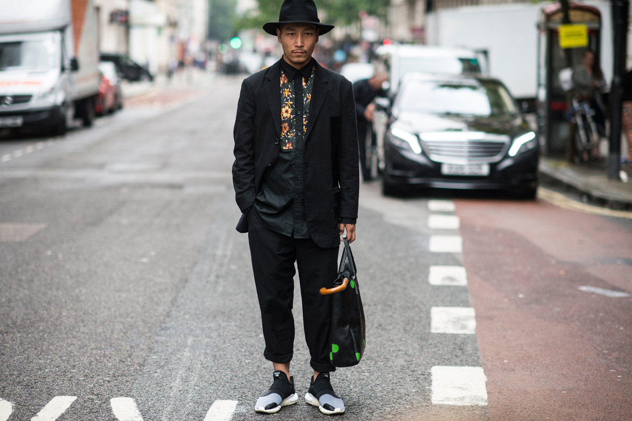 Streesnaps: London Collections - Men 2016 Spring/Summer Part 3