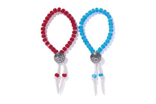 Stussy x JAM HOME MADE 2015 SS-Link Concho Beads Bracelets