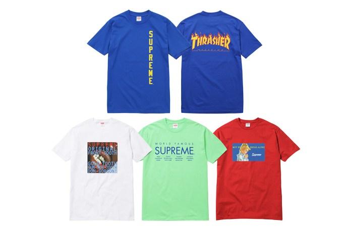 Supreme 2015 Summer T-Shirts