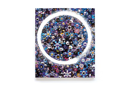 Takashi Murakami Ensō Paintings @ Galerie Perrotin Booth Art Basel 2015 Preview
